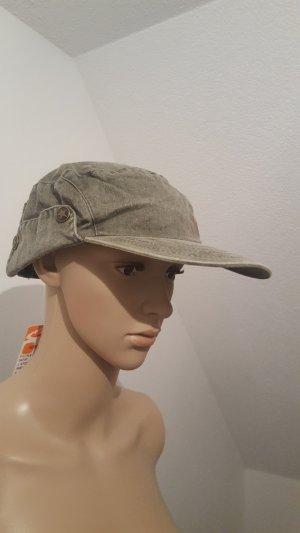 Pimkie Baumwoll Cap Mütze Damen Military Hut NEU mit Etikett 57 cm