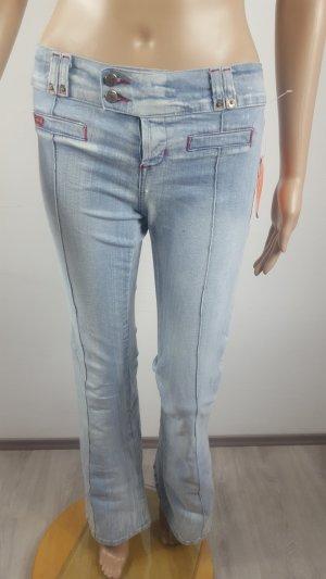 Pimkie Jeans stretch bleu clair coton