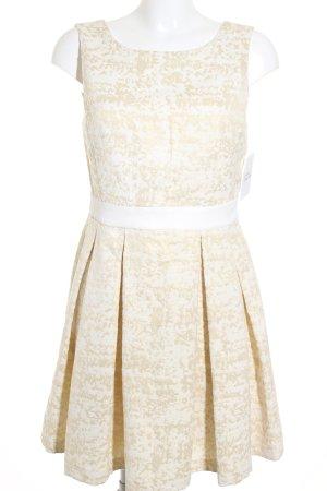 Pimkie Etuikleid weiß-goldfarben Farbverlauf Casual-Look