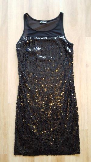 Pimkie Glitzer Pailletten Kleid Gr. 34 *** NEU ***