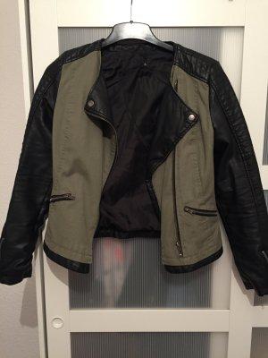 Pimkie halbleder/jeans Jacke