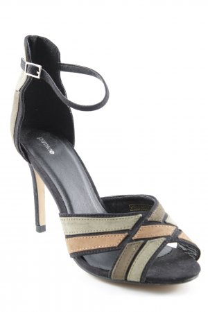 Pimkie High Heel Sandal striped pattern elegant