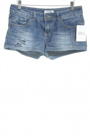 Pimkie Hot Pants blau Casual-Look