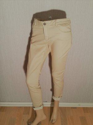Pimkie Jeans Caramel /Gold Gr 40 Strech/ Röhre Neu!