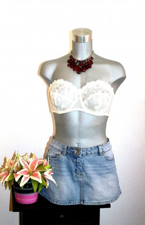 Pimkie Jeans Rock gr. 42 Pailetten Sexy Design Used