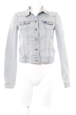 Pimkie Jeansjacke blassblau-graugrün Jeans-Optik