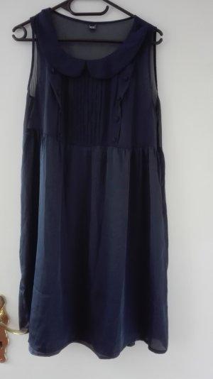 Pimkie Kleid festlich Party Bubikragen dunkelblau 40 L M blau