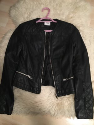 Pimkie Faux Leather Jacket black