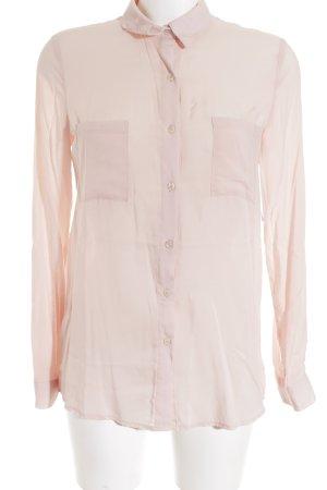 Pimkie Langarm-Bluse rosé Casual-Look