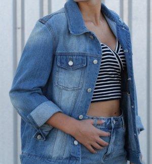 PIMKIE Oversized Jeans-Jacke Gr.M/38