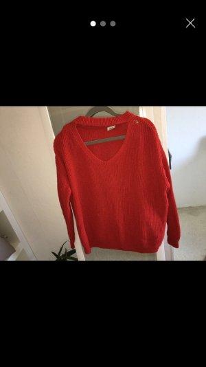 Pimkie Pullover mit V Ausschnitt