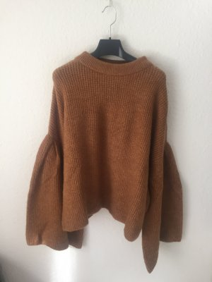 Pimkie Oversized Sweater brown-cognac-coloured polyacrylic