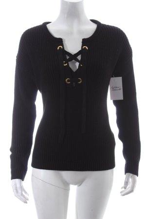 Pimkie Pullover schwarz Urban-Look
