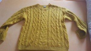 Pimkie Pullover Senffarbe