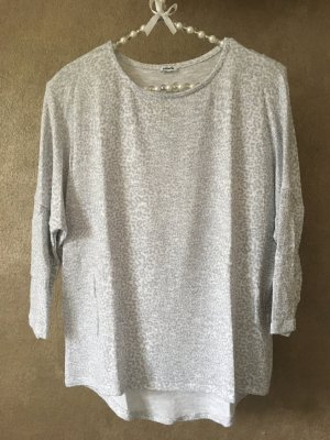 Pimkie Short Sleeve Sweater light grey