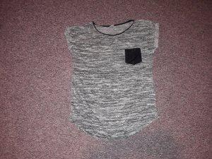 Pimkie Shirt grau meliert L