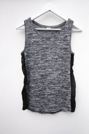 Pimkie Shirt Top Transparent  Grau Grey Strick Strickshirt Tanktop
