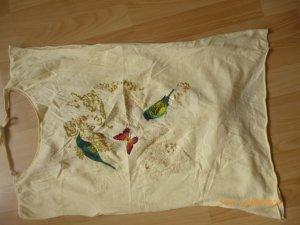 PIMKIE Shirt / Tunika  gr L  40/42 gelb mt Print  Top Zustand,wie neu