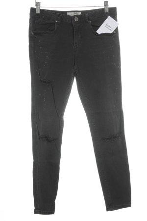 Pimkie Skinny Jeans schwarz Urban-Look