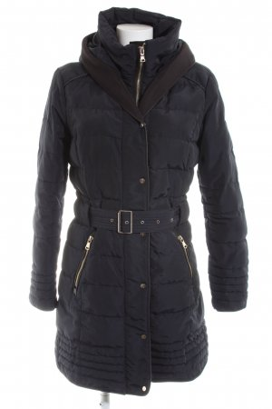Pimkie Quilted Coat black quilting pattern casual look