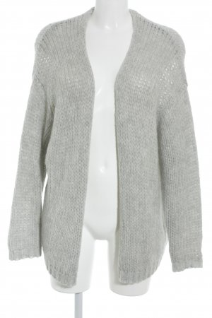 Pimkie Strick Cardigan hellgrau Casual-Look