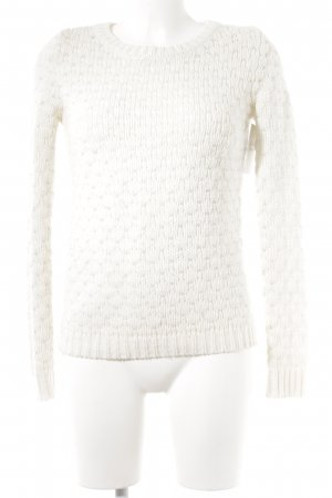 Pimkie Strickpullover wollweiß Casual-Look
