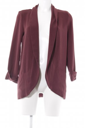 Pimkie Sweatblazer bordeauxrot Casual-Look