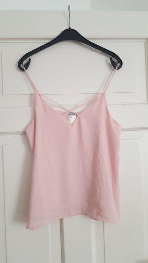 Pimkie Top M Träger Rosa Pastell Camisole NEU!
