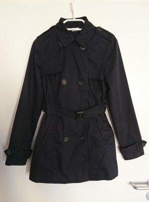 Pimkie Trenchcoat bleu foncé polyester