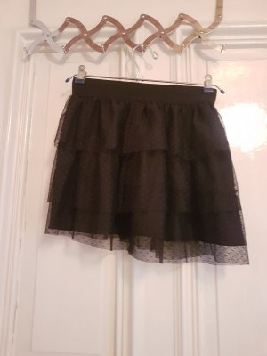 Pimkie Falda de tul negro Poliéster