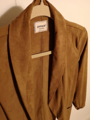 Pimkie Leather Blazer multicolored imitation leather
