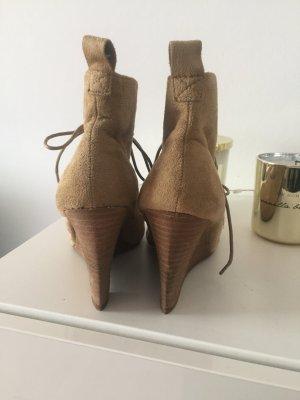 Pimkie Wedges Stiefeletten Boots beige Gr 40