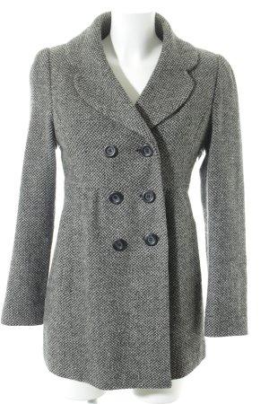 Pimkie Wollmantel schwarz-grau Casual-Look