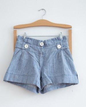 Pin Stripe Taillenshorts im Vintage-Stil #ASOS