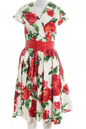 Pin Up Couture Petticoat Dress allover print casual look
