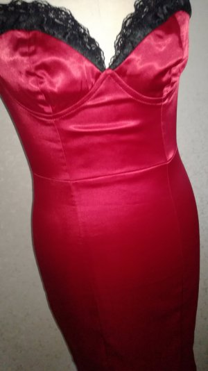 PIN UP Kleid von Pinup Couture Rubinrot Stretch