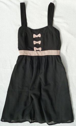 Pin Up Kleidchen mit Schleifen Süß Sexy Dress