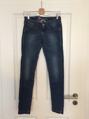 Pin up Skinny Jeans von Fornarina in dunkelblau, Größe 28