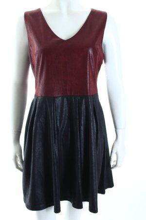 Pink Amber Kleid schwarz-dunkelrot Party-Look