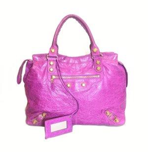 Balenciaga Borsa a tracolla rosa