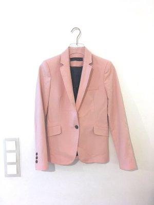 Pink Beton Figur Blazer von Zara