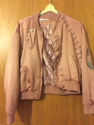 Pink Bomber Jacket (shellpink)