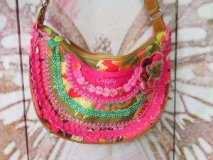 pink bunte Oilily Tasche sehr guter Zustand