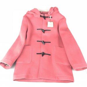 Pink Burberry Coat
