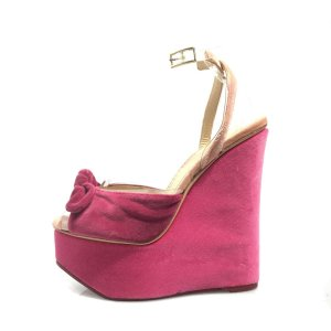 Pink Charlotte Olympia High Heel