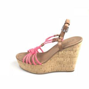Pink Coach Sandal