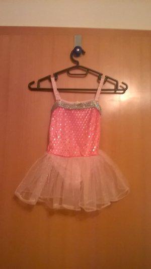 Pink farbendes Ballerina Kleid