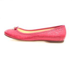 Pink Fendi Flat