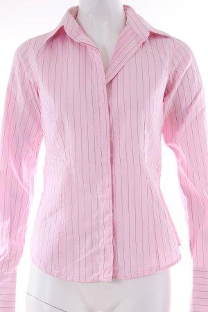 Pink Hemdbluse gestreift rosa