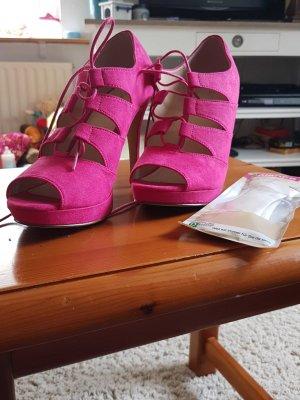 Pink high heels neu mit einlege sohle